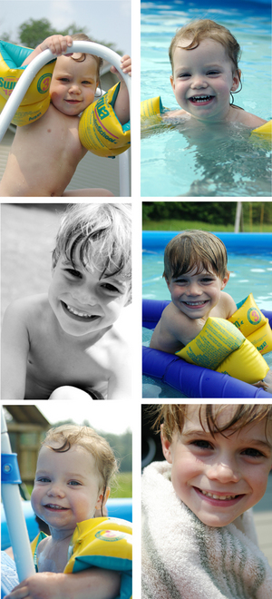 Poolcollage